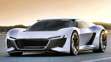 Exterior 2022 Audi E Tron GT