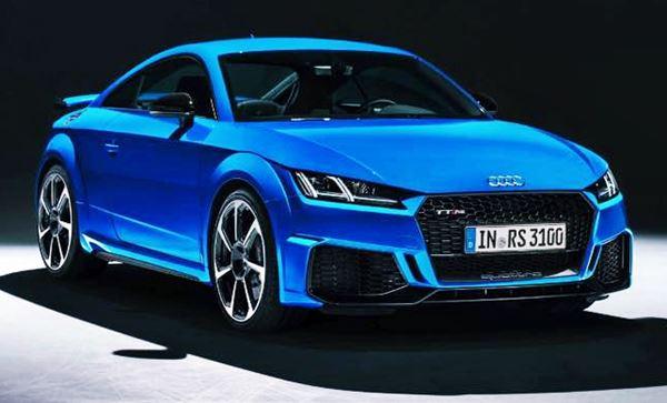 Exterior New Audi TT 2022 Concept