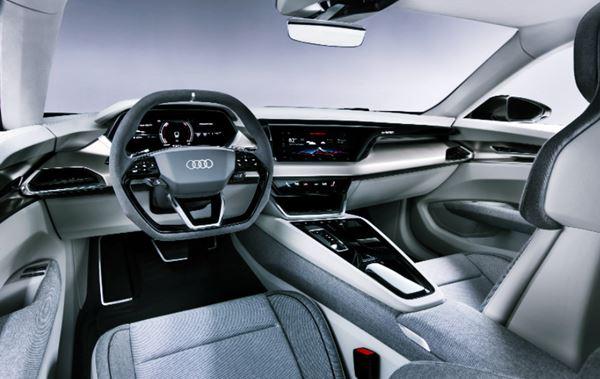 Interior 2022 Audi E Tron GT