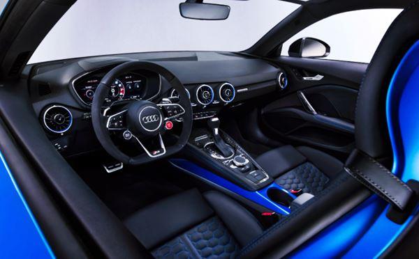 Interior New Audi TT 2022 Concept