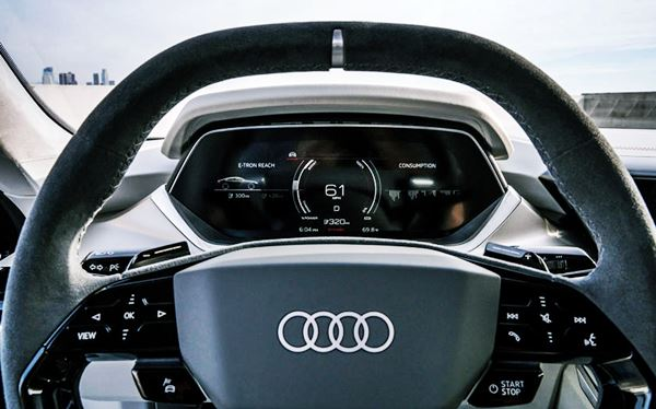 New 2022 Audi E Tron GT Infotainment
