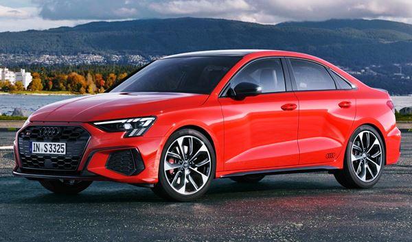 New 2022 Audi S3 Sedan Exterior