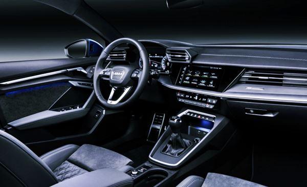 New 2022 Audi S3 Sedan Interior