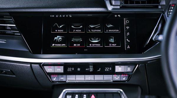 New Audi A3 Sportback 2022 Infotainment