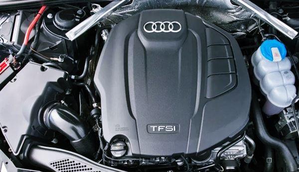 New Audi A4 2022 Engine
