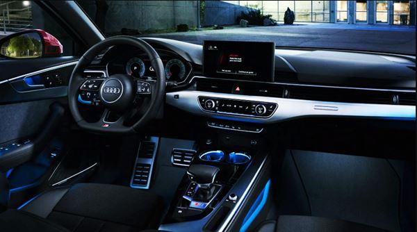 New Audi A4 2022 Interior Design