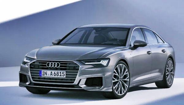 New Audi A6 Facelift 2022 Design