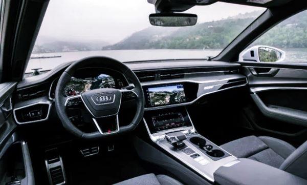 New Audi A6 Facelift 2022 Interior