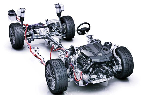 New Audi A7 2022 Engine