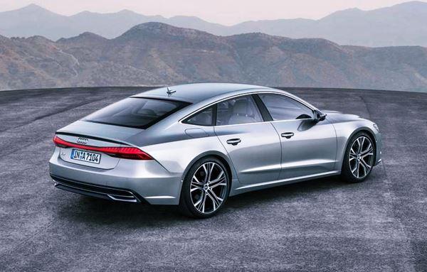 New Audi A7 2022 Exterior