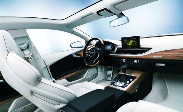 New Audi A7 2022 Interior