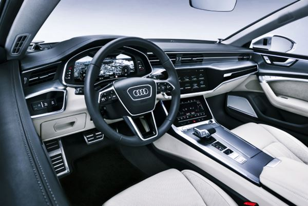 New Audi A7 Facelift 2022 Interior