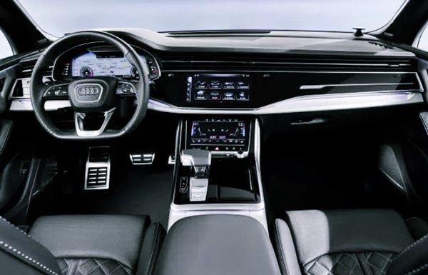 New Audi Q7 2022 Interior Design