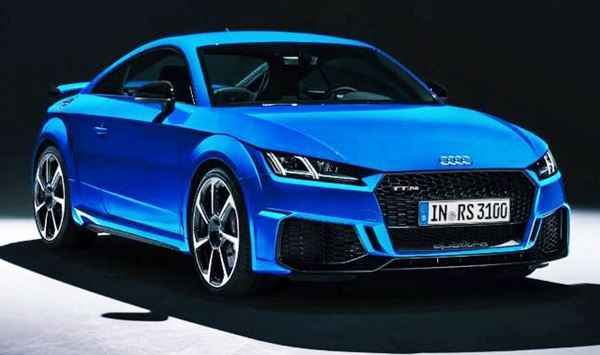 New Audi TT 2022 Electric Design