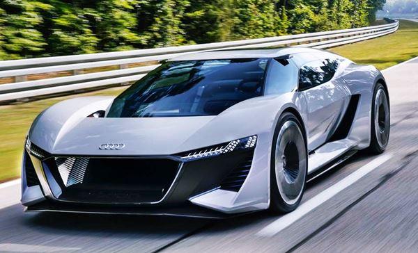 2022 Audi R8 Electric Design