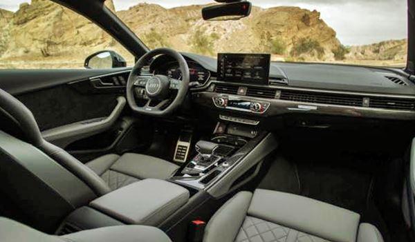 2022 Audi S5 Sportback Interior