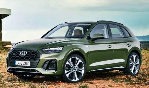 Audi Q5 Facelift 2022 Exterior Design