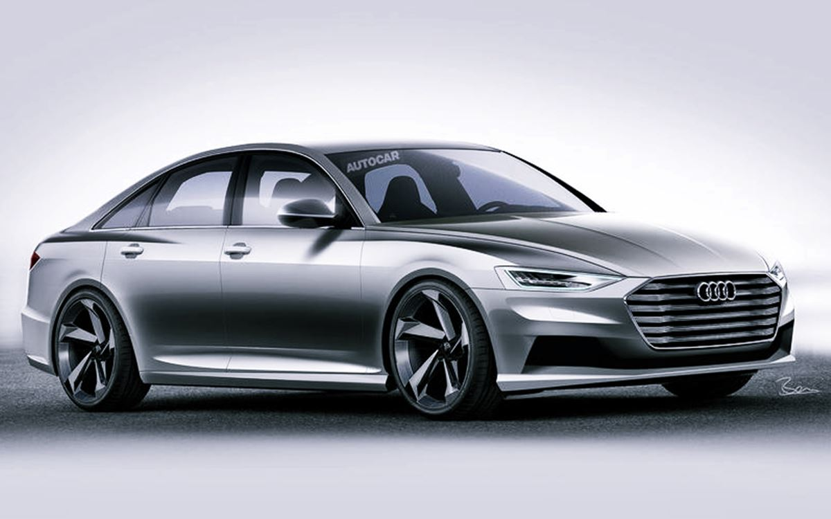 2022 Audi A6 Facelift Redesign Exterior