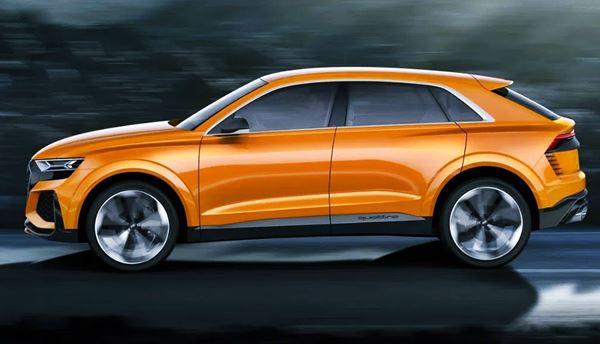 2022 Audi Q8 Exterior Design