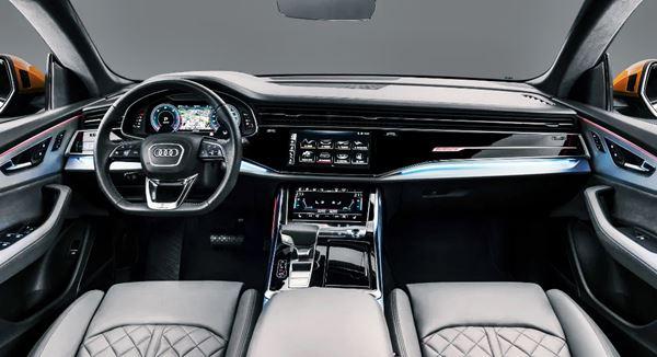 2022 Audi Q8 Interior Design