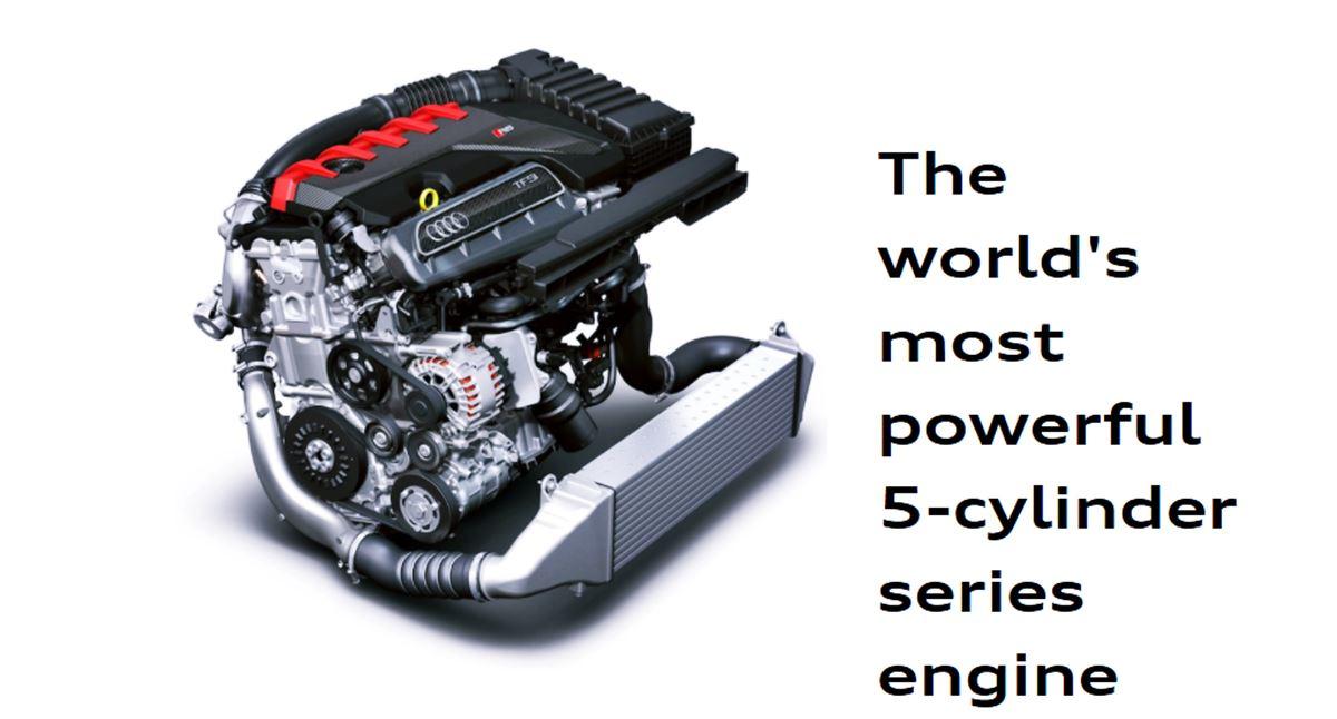 2022 Audi RS3 Hatchback Engine