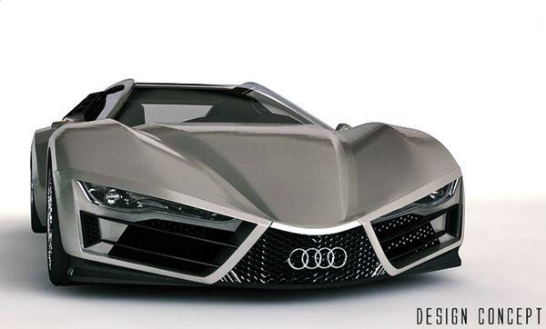 2023 Audi R9 Concept Exterior