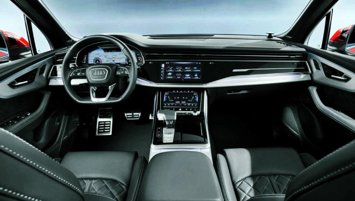 2023 Audi Q7 Interior Redesign