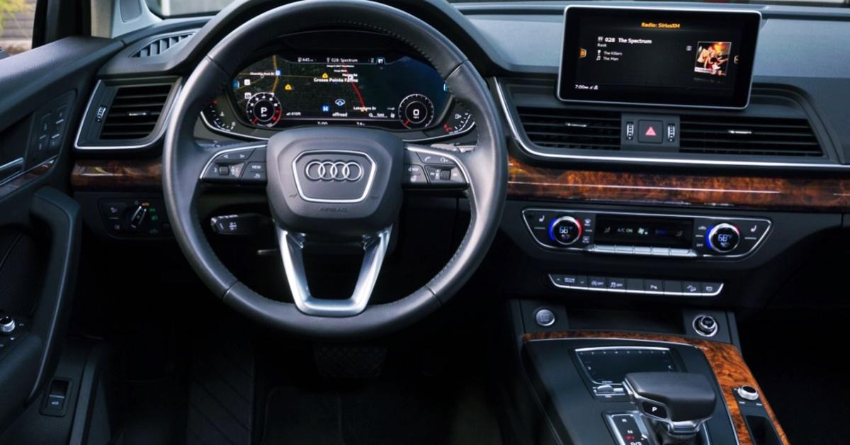Audi Q5 2023 Interior Design